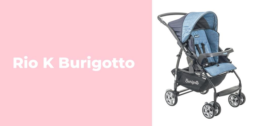 Carrinho de bebe Rio K Burigotto