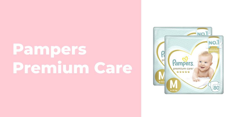 Fralda Pampers Premium Care