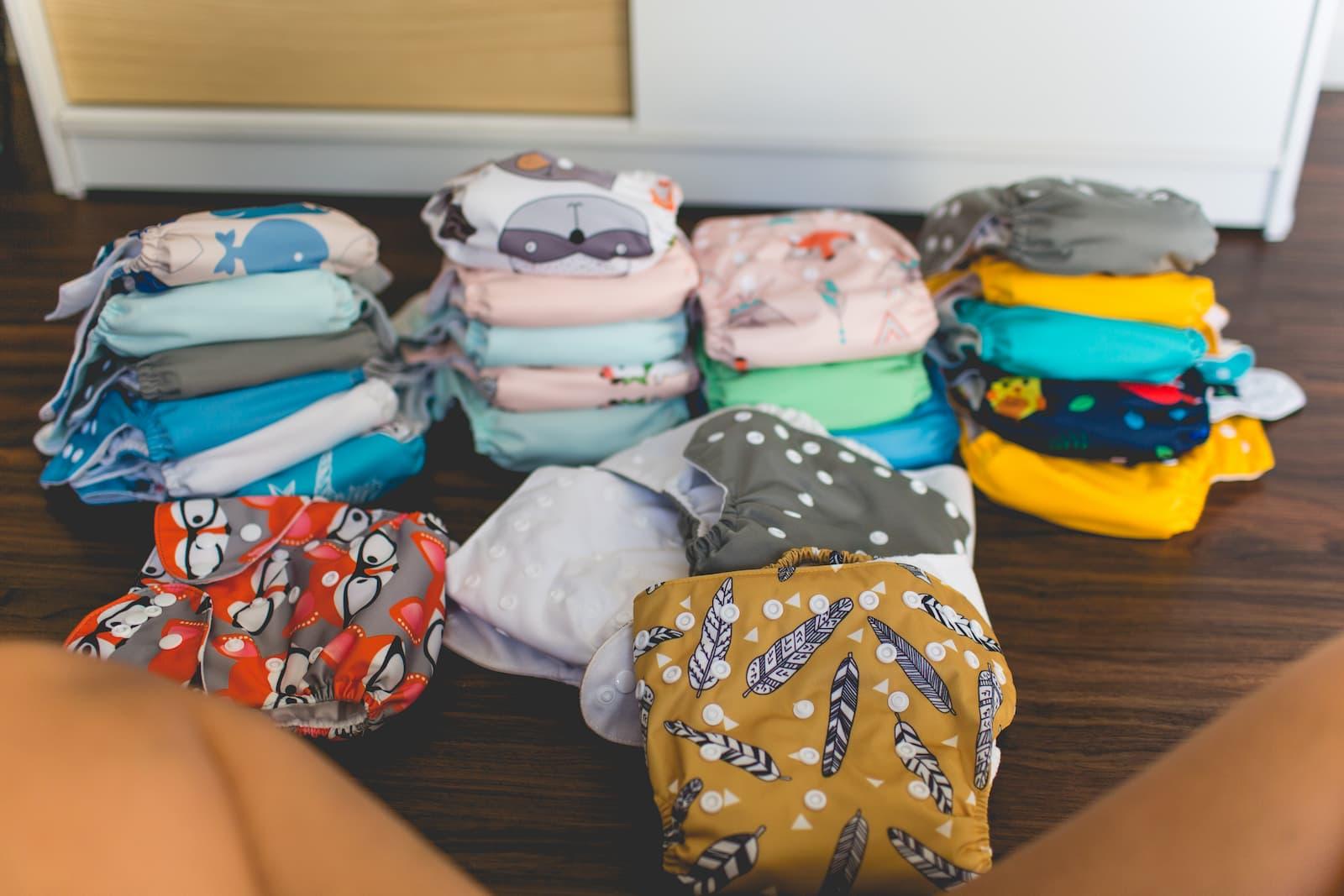 Quantidade de Fralda que Bebê Usa